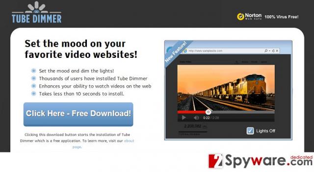 """""""Ad info"""" virus snapshot"""
