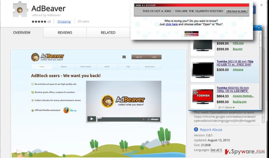 ads by AdBeaver