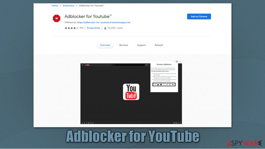 AdBlocker for Youtube
