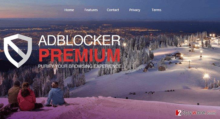 Ads by AdBlockerPremium
