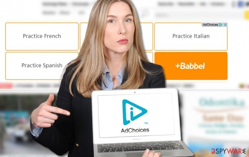 AdChoices ads examples