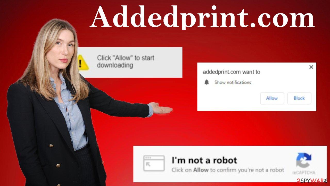 Addedprint.com ads