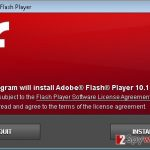 Adobe Flash Player Packages virus