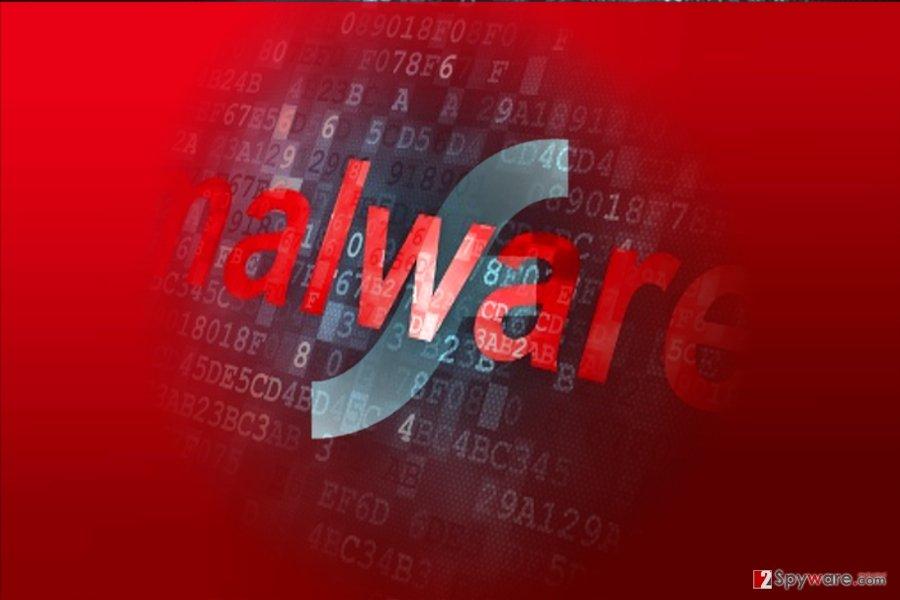 The image displaying Adobe Flash Player Pro malware