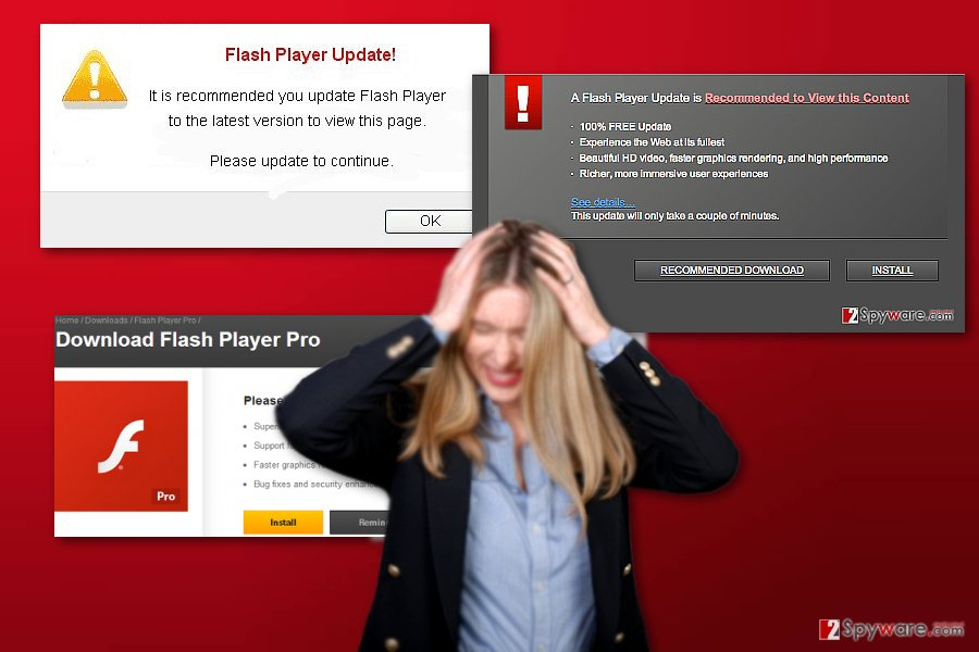Flash Player Pro virus