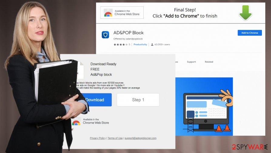 AD&POP Block PUP