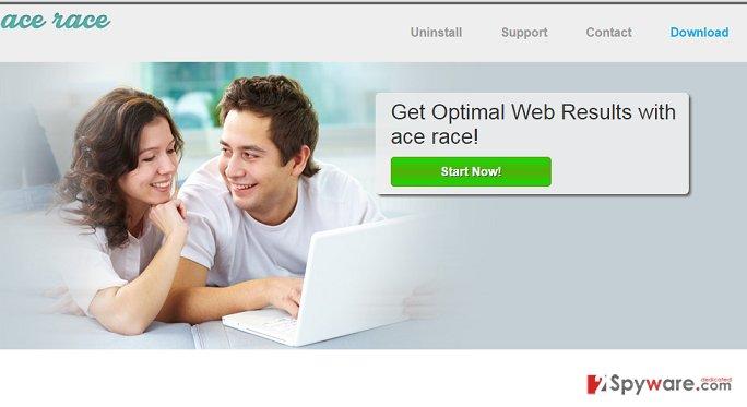 Ads by Ace Race snapshot