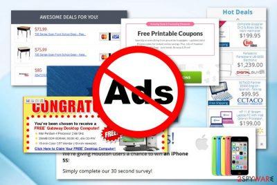 Ads by Aura adware