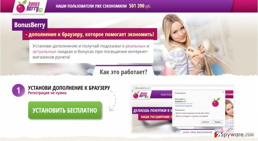 Ads by BonusBerry snapshot