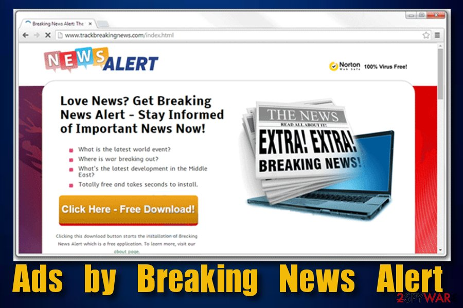 Ads by Breaking News Alert