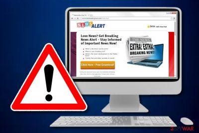 Breaking News Alert adware