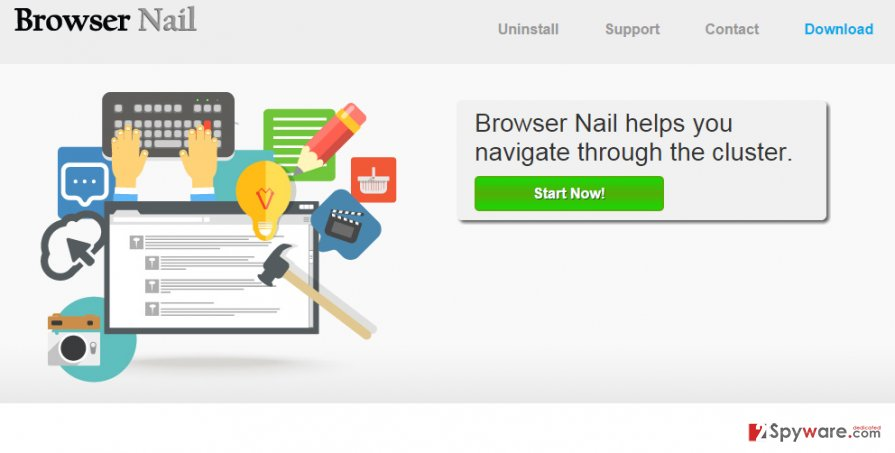Ads by Browser Nail snapshot
