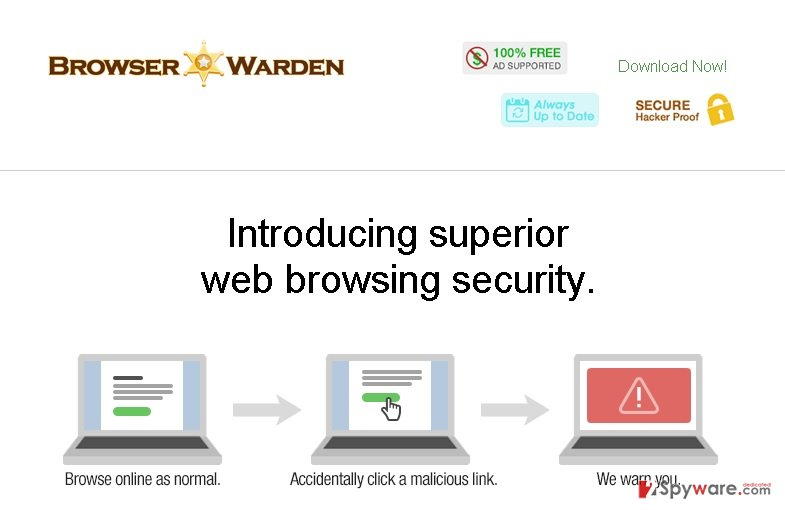 Ads by Browser Warden snapshot