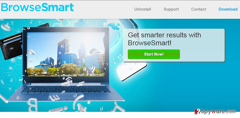 BrowseSmart ads