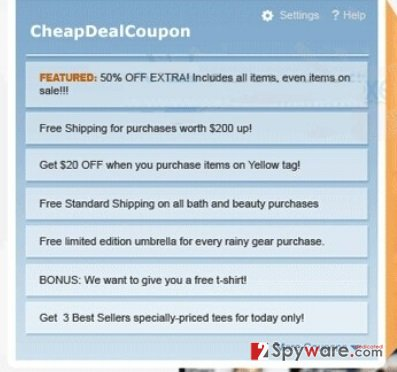 Ads by CheapDealCoupon snapshot