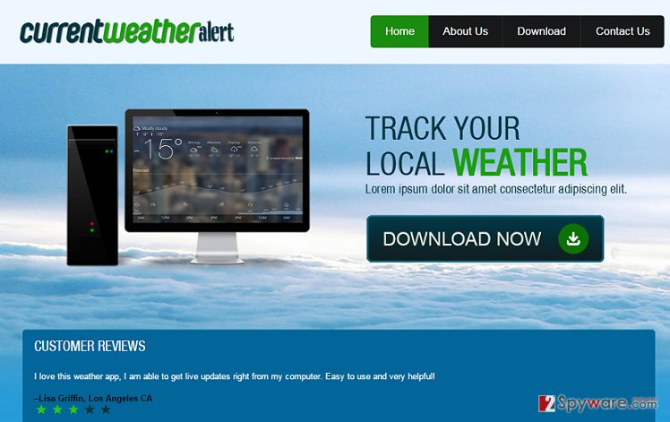 Ads by Current Weather Alert snapshot