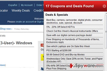 Ads by DiscountTime snapshot