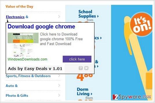 Easy Deals snapshot
