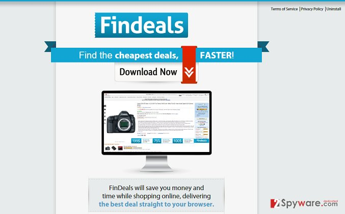 Ads by FinDeals snapshot