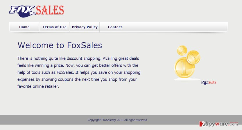 Ads by FoxSales snapshot