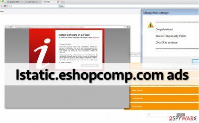 Istatic.eshopcomp.com hijacks computer and displays annoying ads