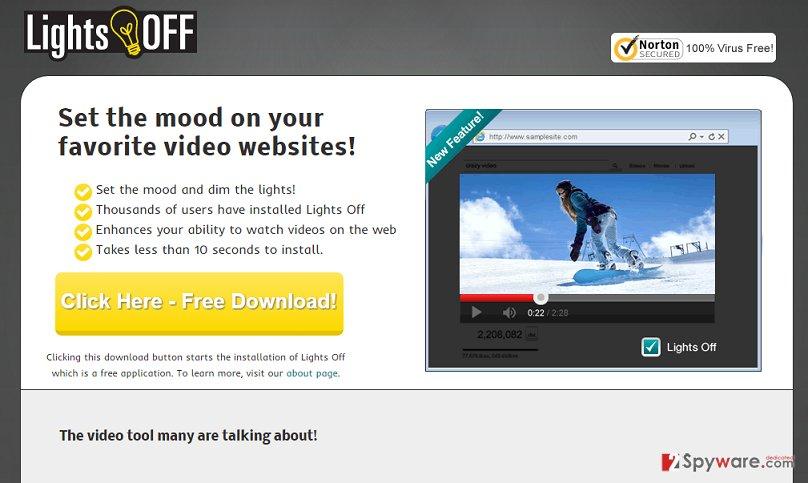 LightsOff ads