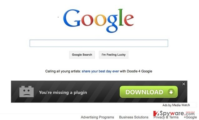 Ads by Media Watch snapshot