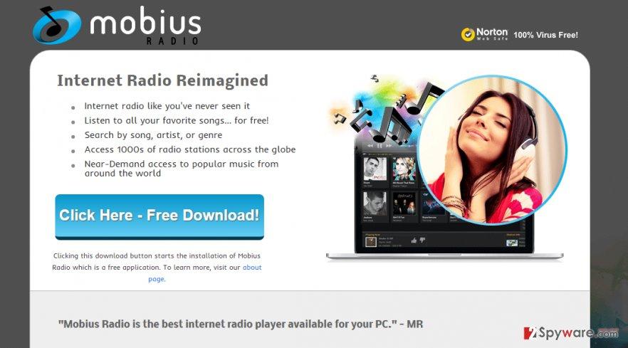 Ads by Mobius Radio snapshot