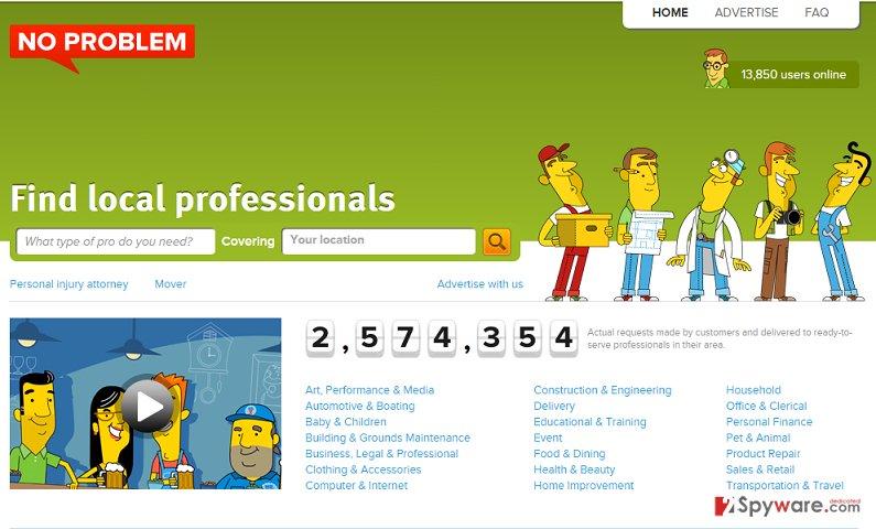 Ads by NoProblemPPC snapshot