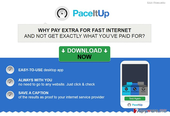 Ads by PaceItUp snapshot