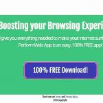 PerformWeb App ads