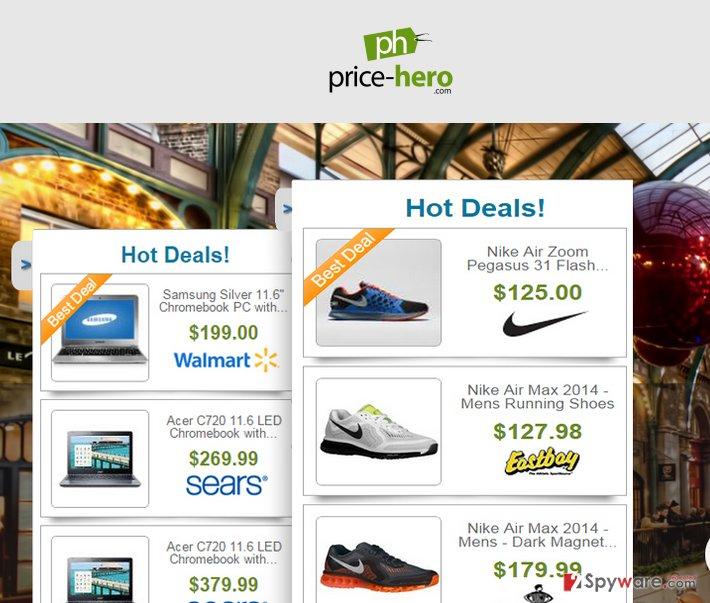 Ads by Price-Hero snapshot