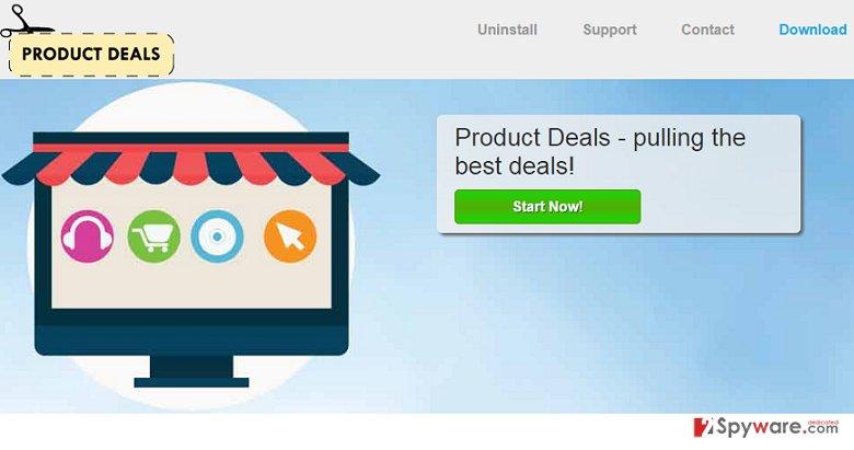 Product Deals ads