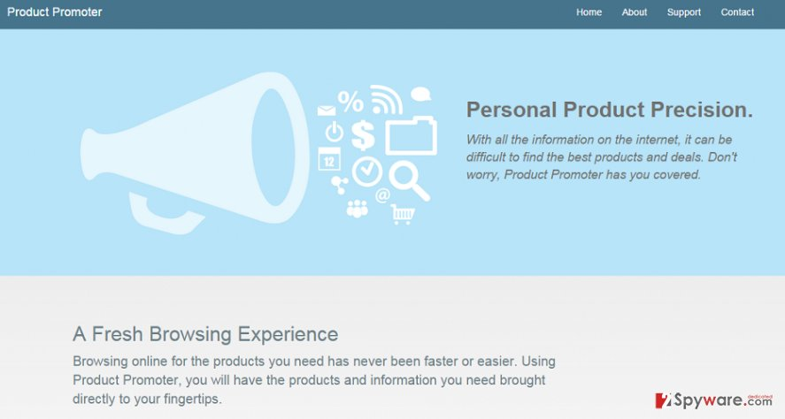 Ads by Product Promoter snapshot