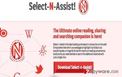 Ads by Select-n-Assist snapshot