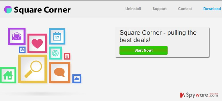 Ads by Square Corner