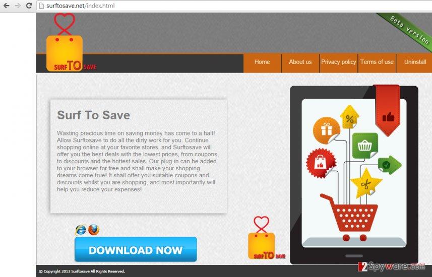 Ads by Surftosave snapshot