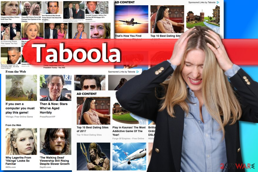 Examples of Taboola ads