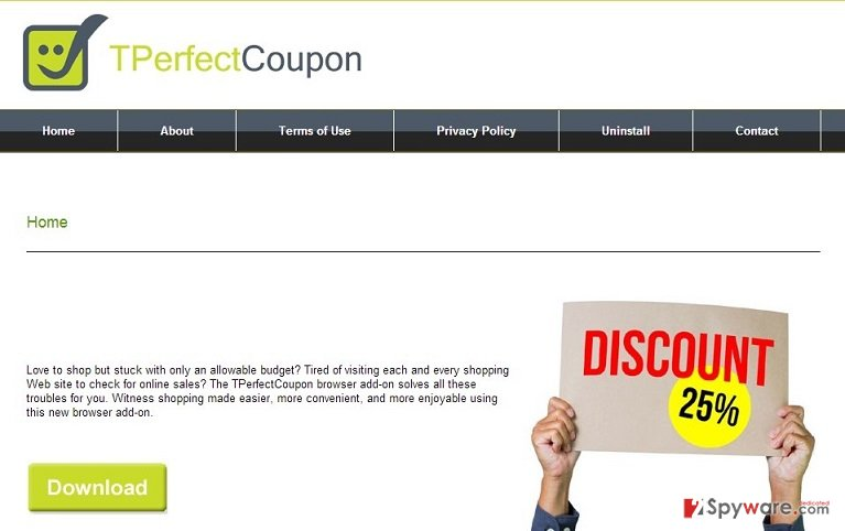 Ads by TPerfectCoupon snapshot