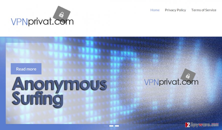 Ads by VPN Privat snapshot