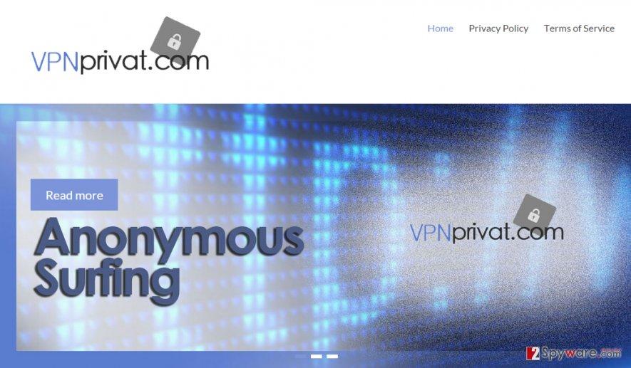 Ads by VPN Privat snapshot