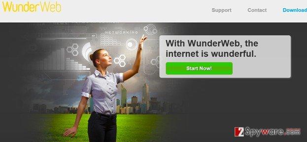 WunderWeb ads