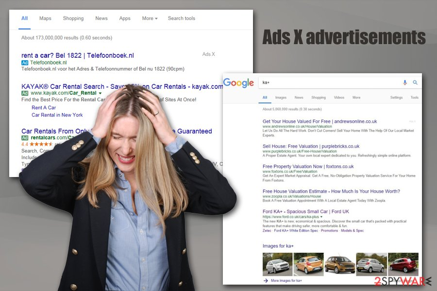 Ads X advertisements
