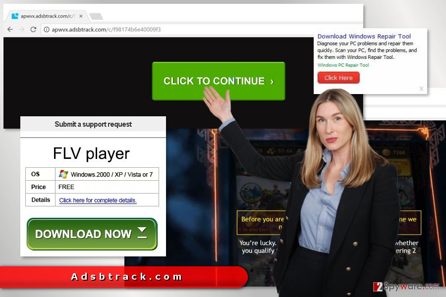 The picture of Adsbtrack.com ads