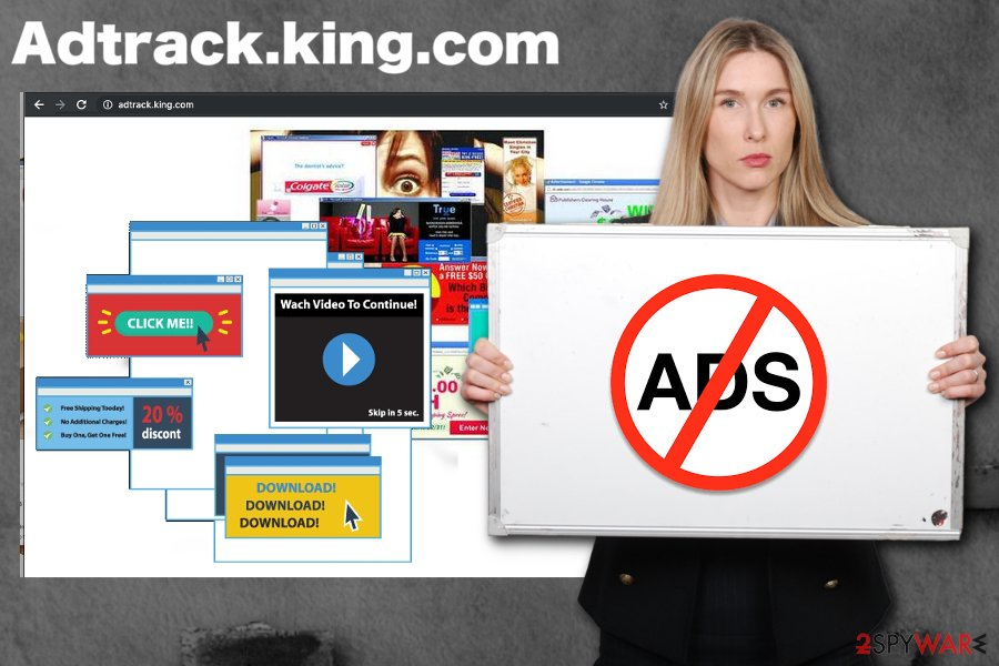 Adtrack.king.com virus