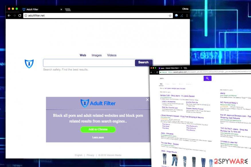 Adultfilter.net virus