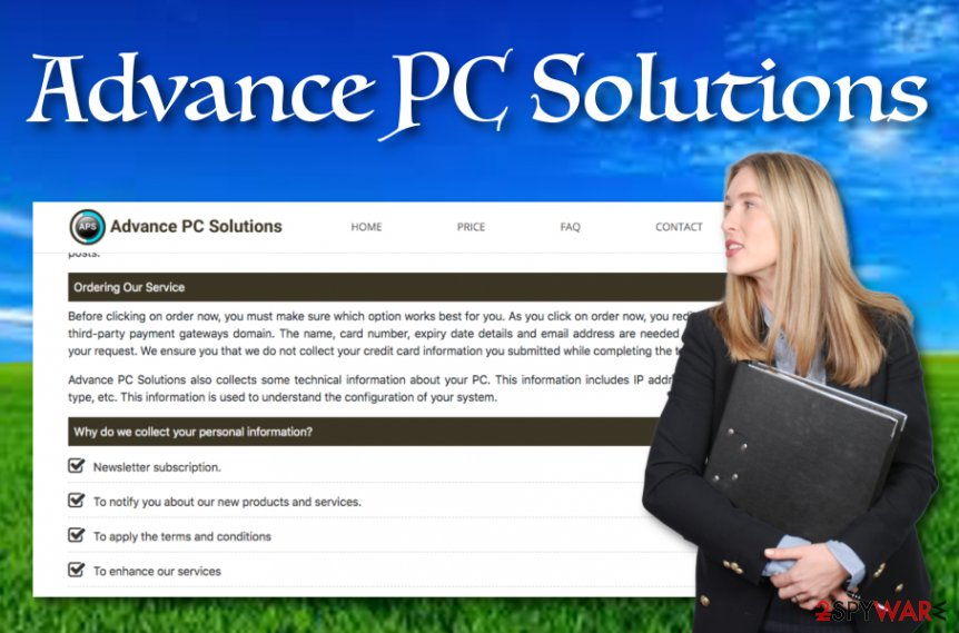 Advance PC Solutions software