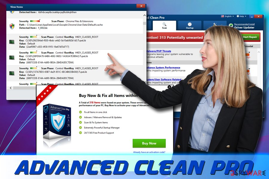 Advanced Clean Pro virus