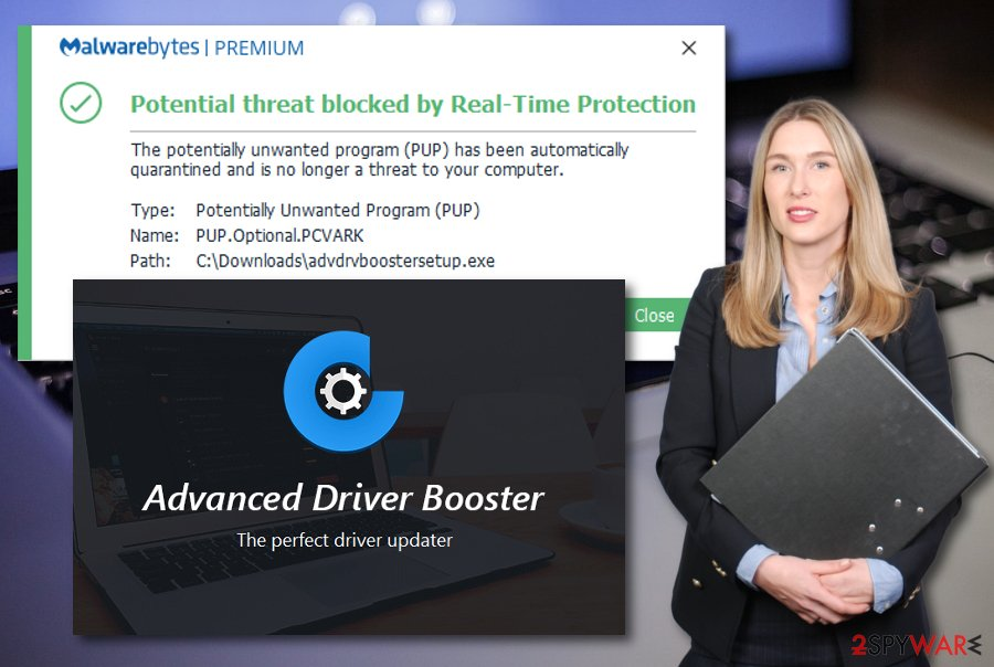 Advanced Driver Booster virus