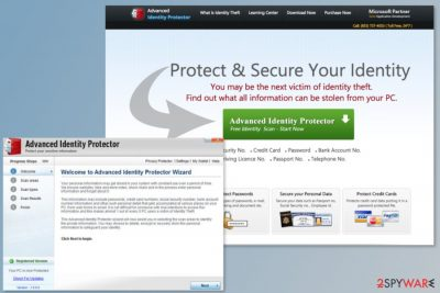 Advanced Identity Protector program